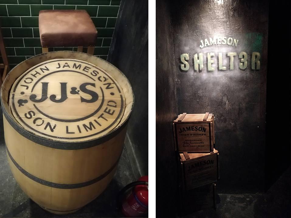 Jameson Shelter Speakeasy Bar