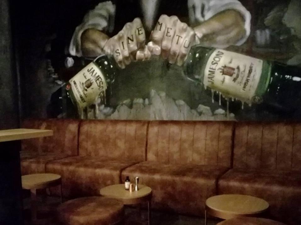 JameJameson Shelter Speakeasy Bar