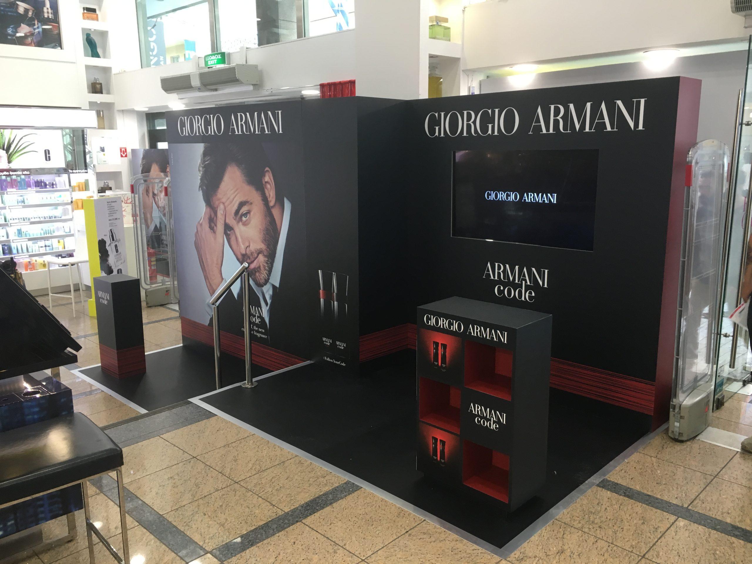 Armani Staging