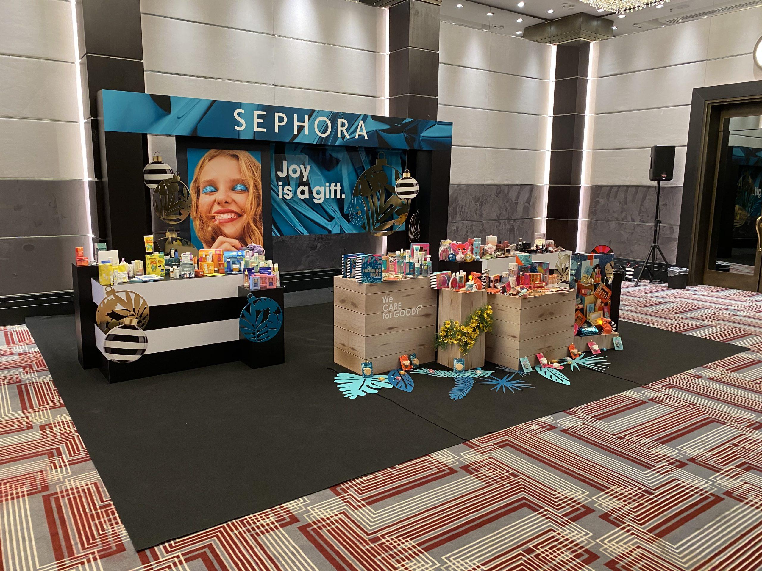 Sephora Press Event