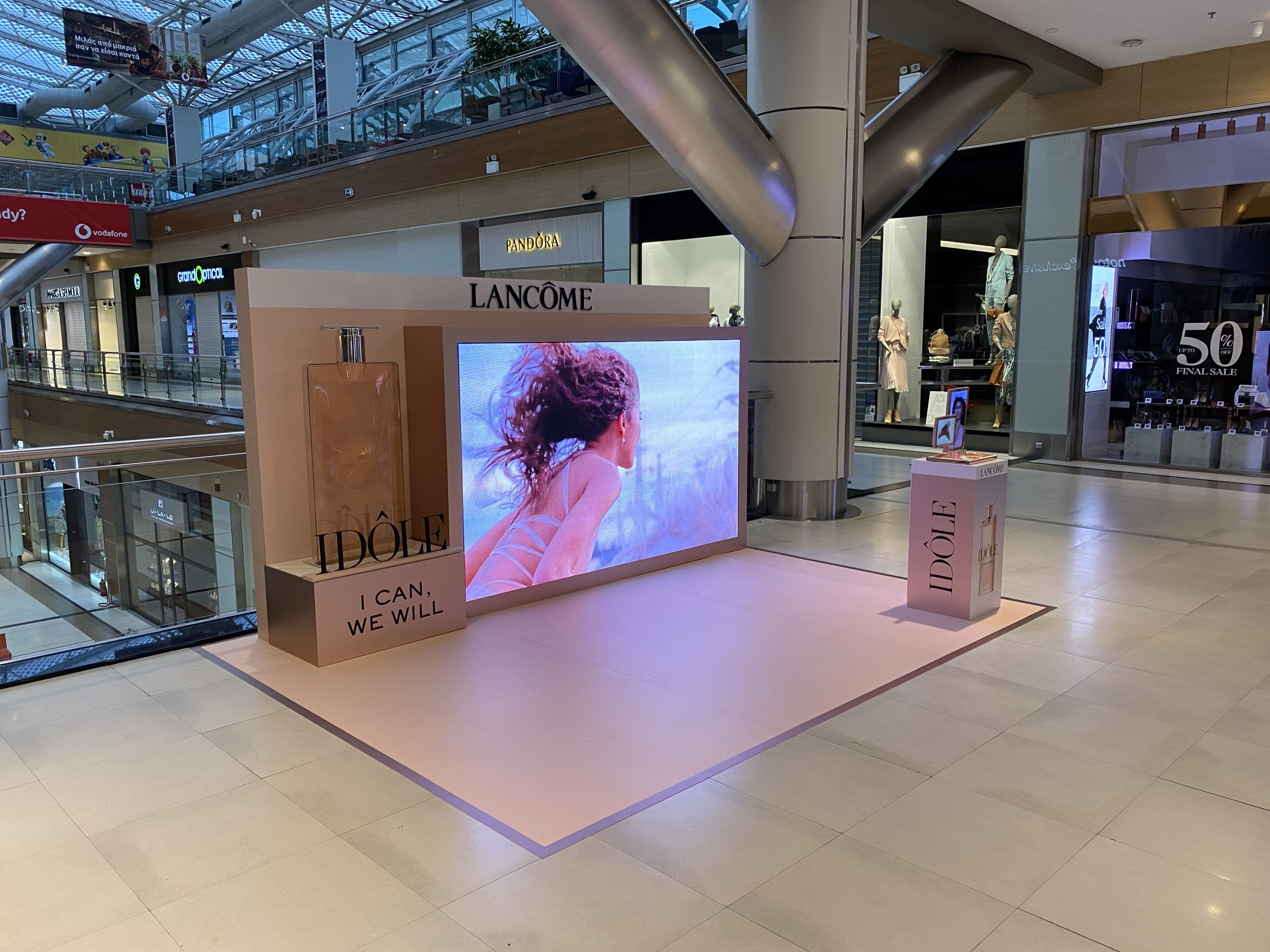 Lancome Staging